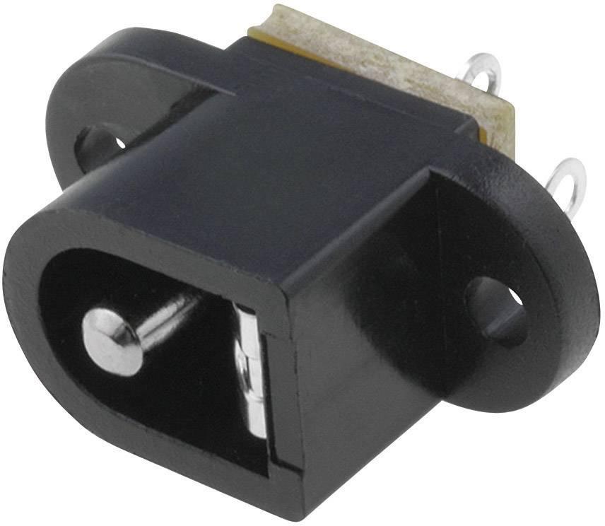 Napájecí konektor Cliff FC681492, zásuvka vestavná horizontální