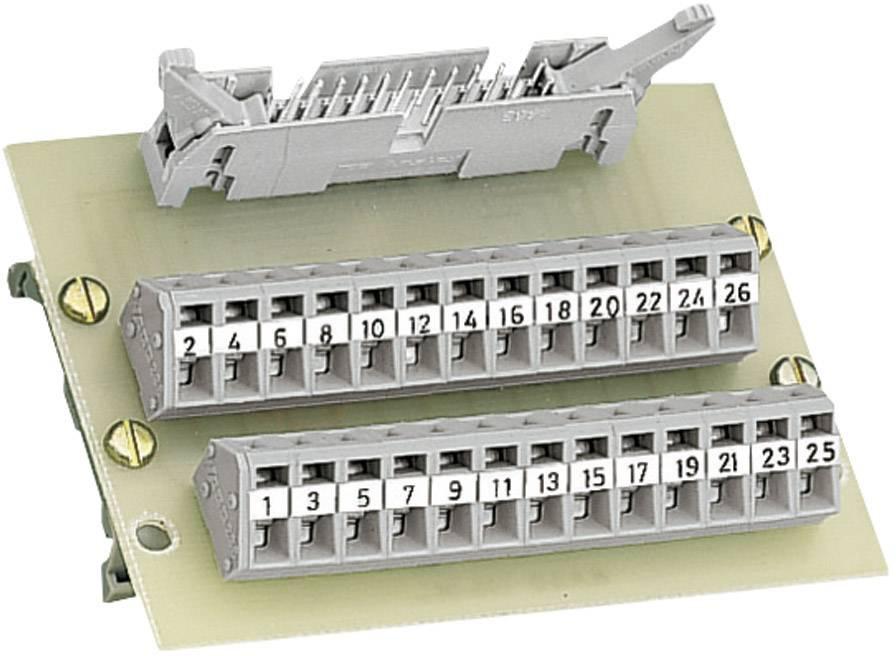 Konektorový modul podľa DIN 41 651 WAGO 289-405, 0,08 - 2,5 mm², 26-pól.