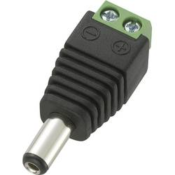 Nízkonapäťový konektor zástrčka, rovná TRU COMPONENTS DC14-M, 5.5 mm, 2.1 mm, 1 ks