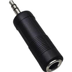 Jack audio adaptér BKL Electronic 1102008, čierna