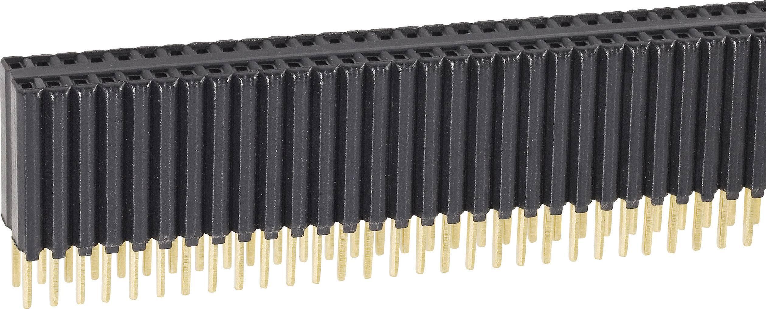 Zásuvková lišta vyšší kvality Fischer Elektronik BLM KG 2/ 72/G, řádky 2, kontakty na řádek 36, 1 ks