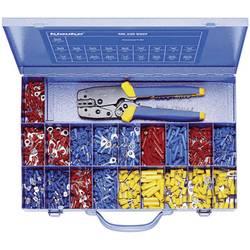 Krimpovací sada 0.50 mm² 6 mm² červená, modrá, žlutá Klauke MK230B507 826 ks