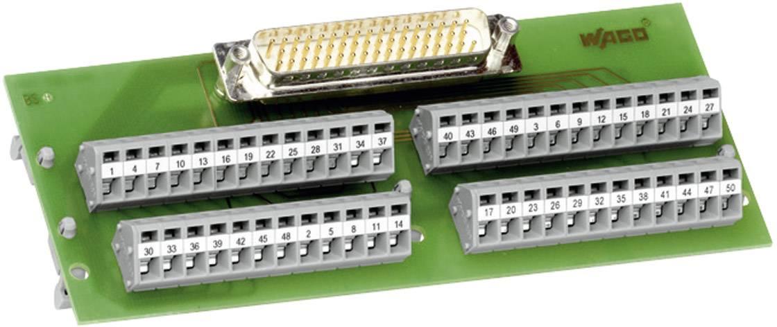 Modul D-SUB konektora so svorkovnicou WAGO 289-443, 0.08 - 2.5 mm², 37-pól.