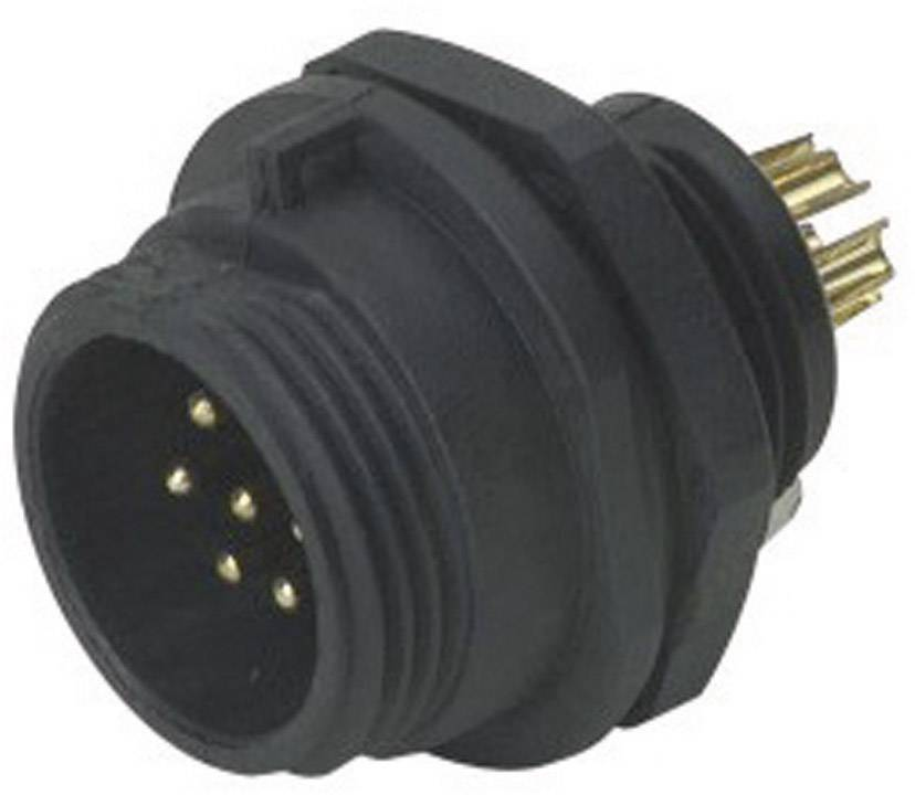 Přístrojový konektor Weipu SP1312/P3, zástrčka vestavná, 3pól., IP68