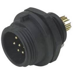 Přístrojový konektor Weipu SP1312/P9, zástrčka vestavná, 9pól., IP68