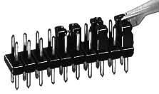 Můstkový Jumper Fischer El. CAB 10 G, 2 mm, černá