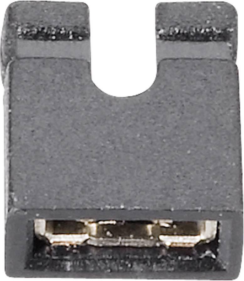 Můstkový Jumper Fischer El. CAB 11 G, 2 mm, černá