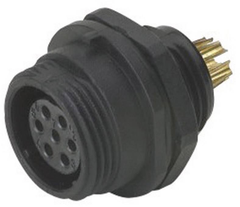 Přístrojový konektor Weipu SP1312/S6, zásuvka vestavná, 6pól., IP68