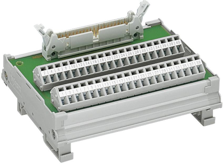 Konektorový modul podľa DIN 41 651 WAGO 289-504, 0,08 - 2,5 mm², 20-pól.