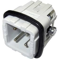 Vložka pinového konektora Amphenol C146 10A003 002 4, 3 + PE, skrutkovací, 1 ks