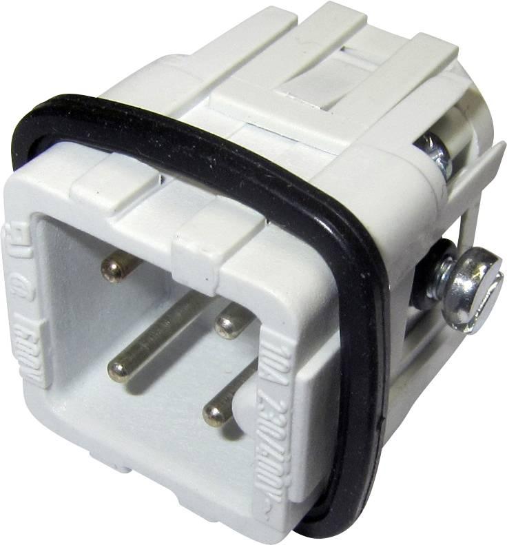 Vložka pinového konektoru Heavy mate® C146 C146 10A003 002 4 Amphenol, počet kontaktů: 3 + PE, 1 ks