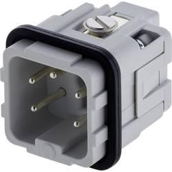 Vložka pinového konektora Amphenol C146 10A004 002 4, 4 + PE, skrutkovací, 1 ks