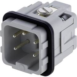Vložka pinového konektoru Heavy|mate® C146 C146 10A004 002 4 Amphenol, počet kontaktů: 4 + PE, 1 ks