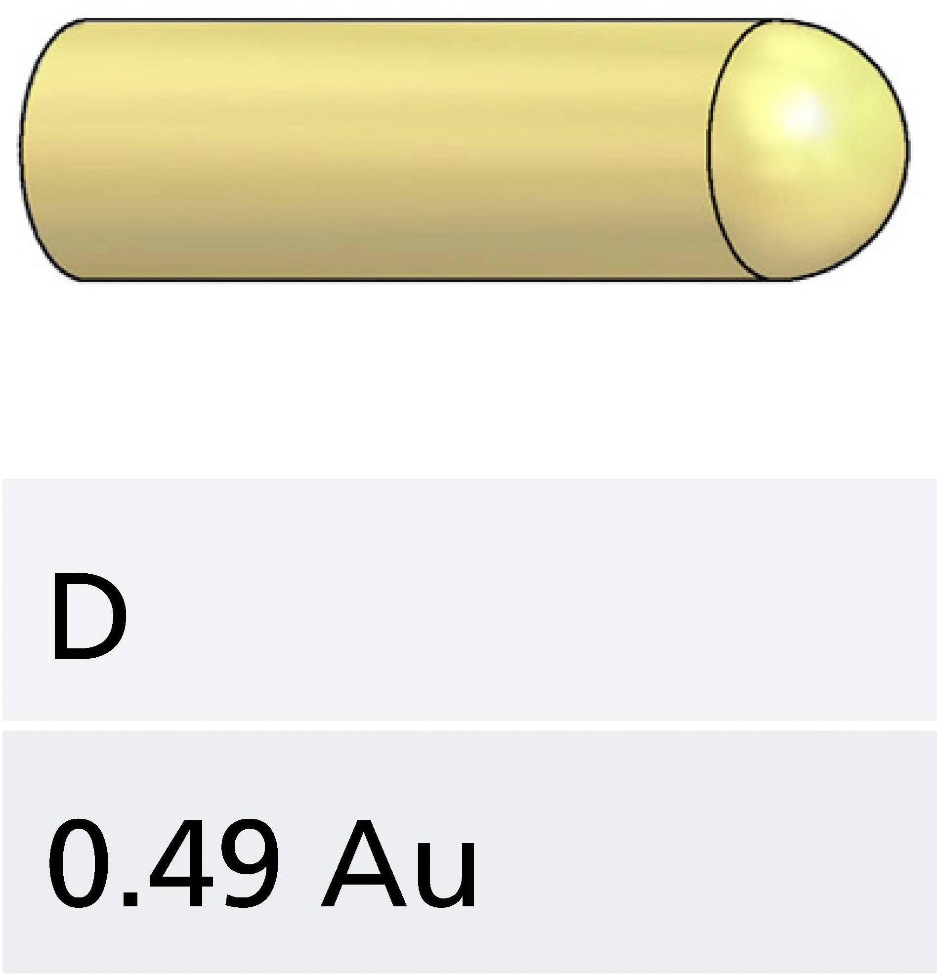 Skúšobný hrot PTR 1007-D-0.7N-AU-0.5