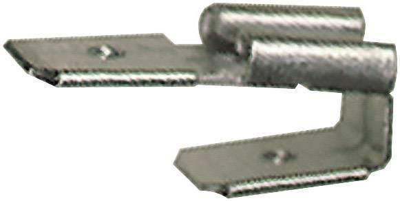 Plochý rozdělovač Vogt Verbindungstechnik 3838.60 s vetvením , 6.3 mm x 0.8 mm, 180 °, neizolované, kov, 1 ks