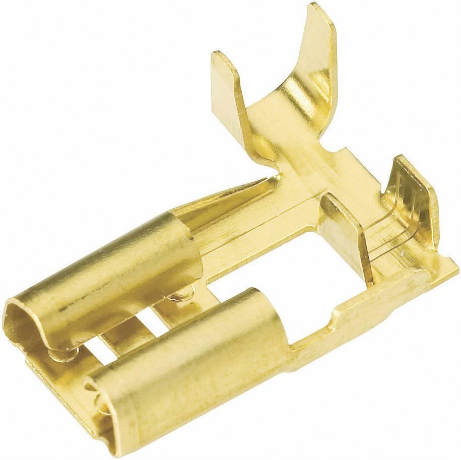 Faston zásuvka Vogt Verbindungstechnik 38373C.60 6.3 mm x 0.8 mm, 90 °, bez izolace, kov, 1 ks