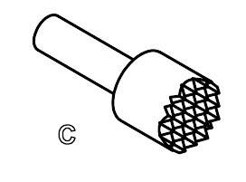 Skúšobný hrot PTR 1010-C-0.8N-AU-1.5C