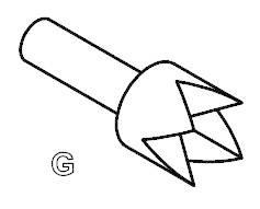 Skúšobný hrot PTR 1040-G-1.5N-NI-4.0