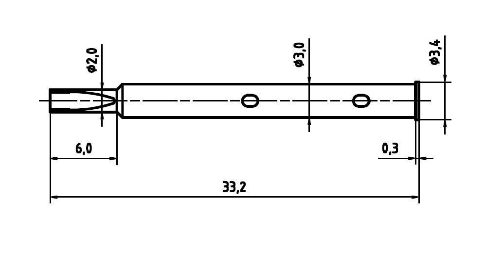 Ochranný kryt pre skúšobný hrot PTR H 1045 L