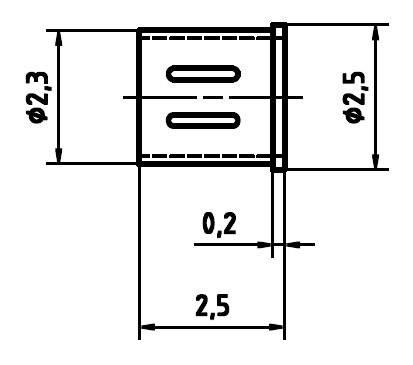 Ochranný kryt pre skúšobný hrot PTR H 5099-25