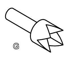 Skúšobný hrot PTR 1015-G-0.7N-AU-1.8