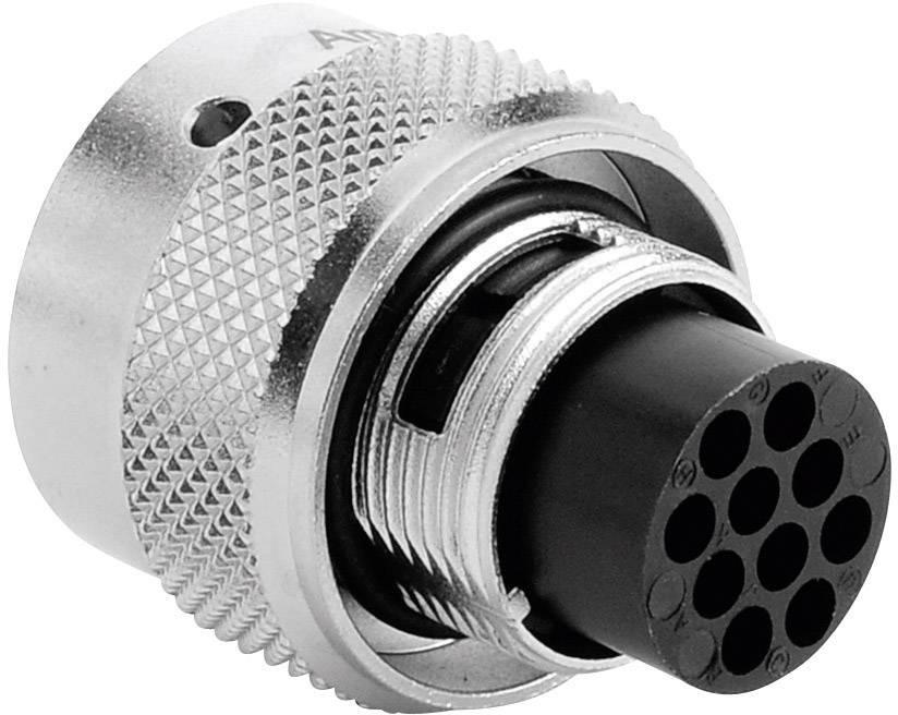 Kabelový konektor 10pól.RT360™ Amphenol RT0612-10PNH, zástrčka rovná