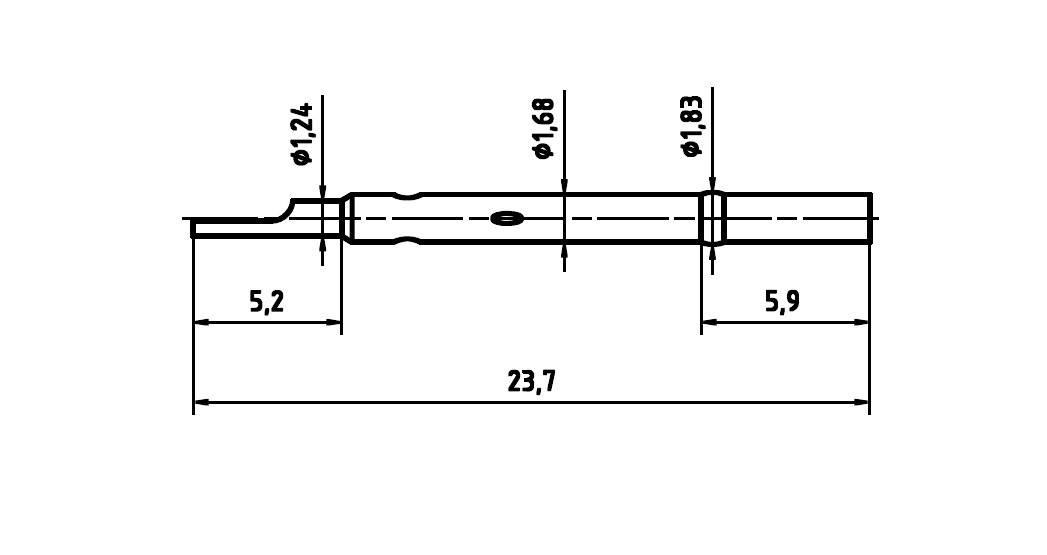 Ochranný kryt pre skúšobný hrot PTR H 1015 L