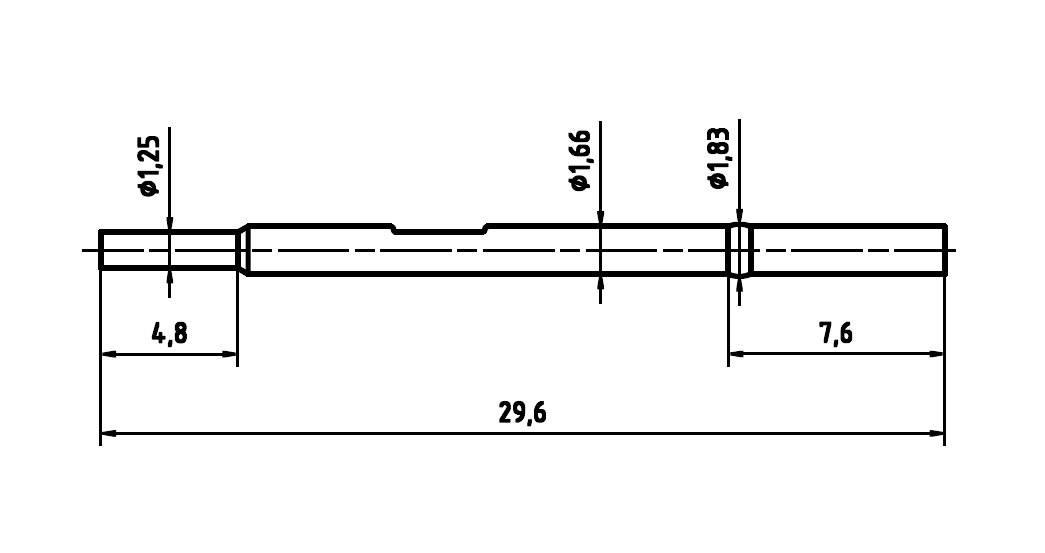 Ochranný kryt pre skúšobný hrot PTR H 1025 C