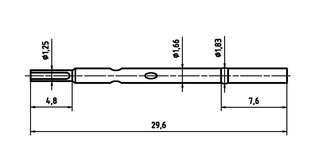 Ochranný kryt pre skúšobný hrot PTR H 1025 L