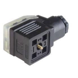 Napájecí prům. konektor M16 Hirschmann GDME 3020 schwarz (934 455-100), šroubové připojení, černá