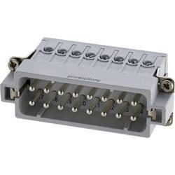 Vložka pinového konektoru postříbřené kontakty Amphenol C146 10A016 002 4, 50 ks