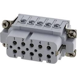 Konektorová vložka, zásuvka postříbřené kontakty Amphenol C146 10B010 002 4, 1 ks