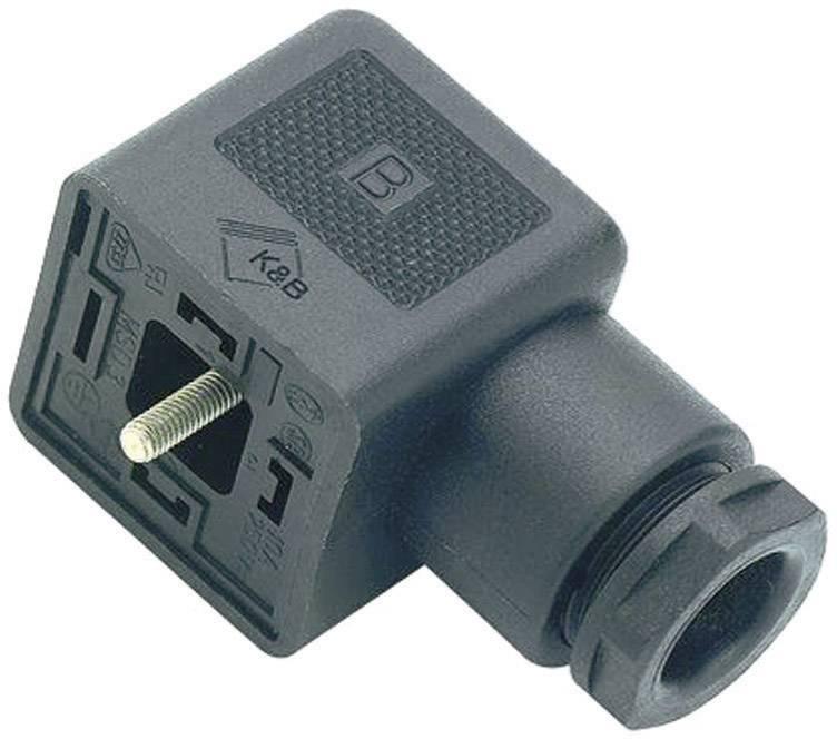 Magnetická ventilová propojka Binder 43-1702-000-04, černá