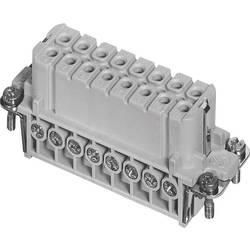 Konektorová vložka, zásuvka postříbřené kontakty Amphenol C146 10B016 002 4, 50 ks