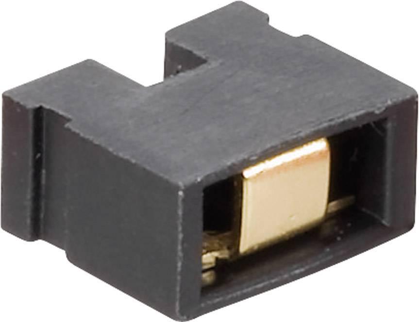 Můstkový Jumper Fischer El. CAB 6 05 G, 2,54 mm, černá