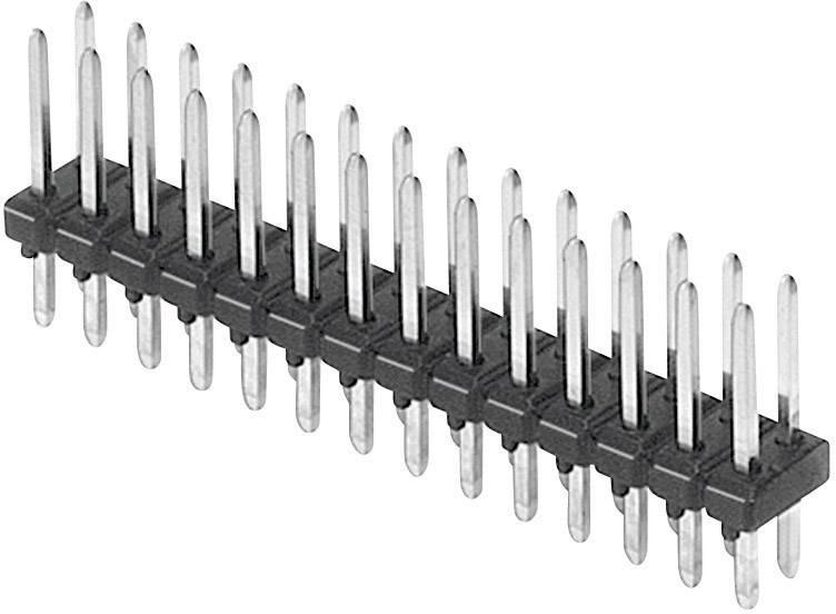 Pinová lišta (štandardná) TRU COMPONENTS TC-18884-13-016-00, řádky 2, kontakty na řádek 8, 1 ks