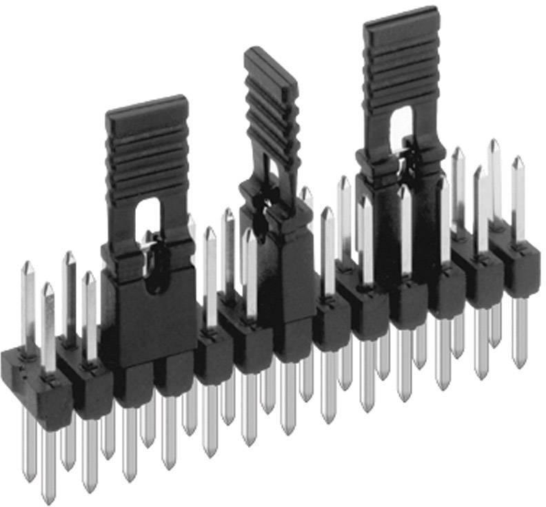 Zkratovací můstek Fischer Elektronik CAB 9 G R, Rastr (rozteč): 2.54 mm, počet pólů 2, červená, 1 ks
