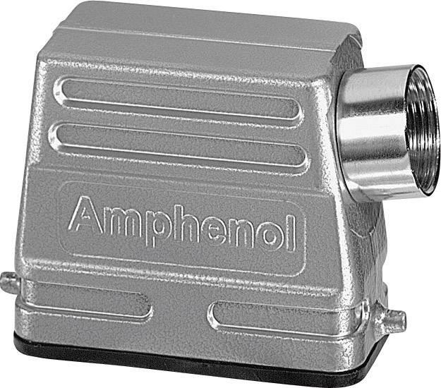 Pouzdro nízká stavební forma , boční kabelový vývod Amphenol C146 10G016 500 4, 1 ks