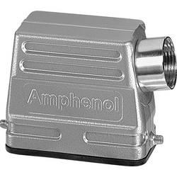 Pouzdro nízká stavební forma , boční kabelový vývod Amphenol C146 21R010 500 4, 1 ks