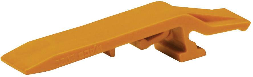 Blokovací západka Wago 2022-152, oranžová