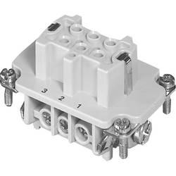Súprava konektorovej zásuvky Amphenol C146 10B006 002 1, 6 + PE, skrutkovací, 1 ks