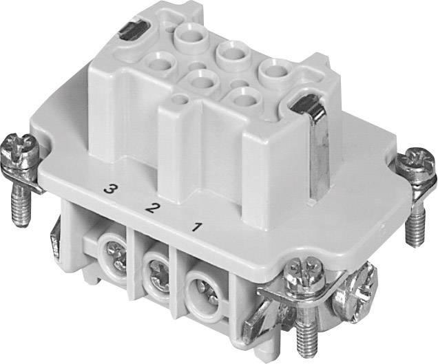Sada konektorové zásuvky Heavy mate® C146 Amphenol C146 10B006 002 1, počet kontaktů 6 + PE, 1 ks
