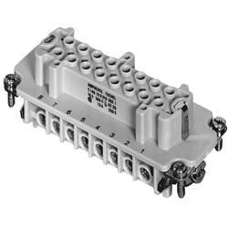 Súprava konektorovej zásuvky Amphenol C146 10B016 002 1, 16 + PE, skrutkovací, 1 ks