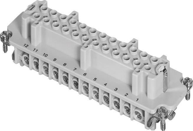 Konektorová vložka, zásuvka Amphenol C146 10B024 002 1, 24 + PE, šroubovací, 1 ks