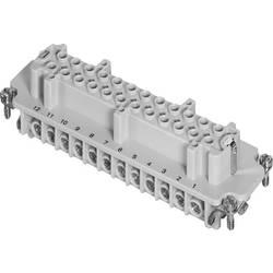 Súprava konektorovej zásuvky Amphenol C146 10B024 002 1, 24 + PE, skrutkovací, 1 ks