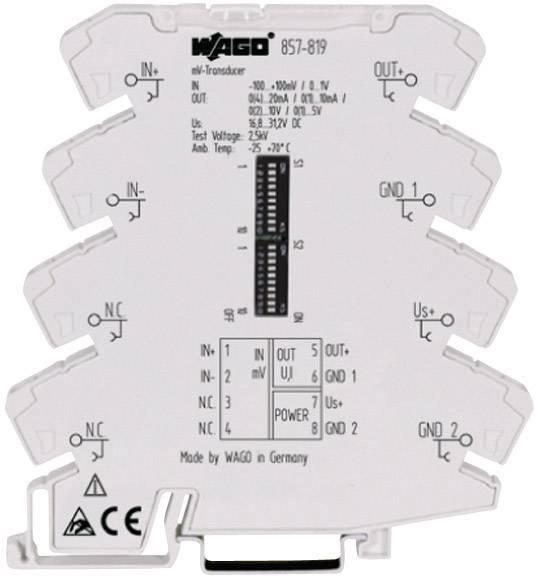 Merací prevodník mV WAGO 857-819 857-819 1 ks