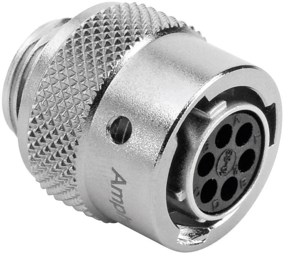 Kabelový konektor 6pól. Amphenol RT0610-6SNH, zásuvka rovná