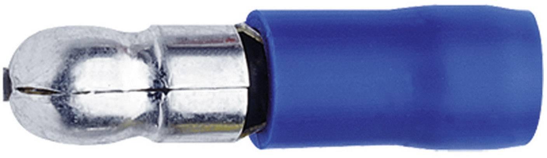 Guľatý faston Klauke 1030, 1.50 - 2.50 mm², Ø hrotu: 5 mm, čiastočne izolované, modrá, 1 ks