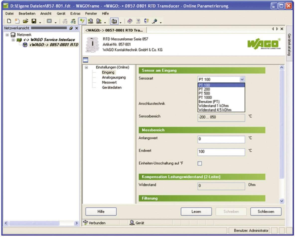 Softvér rámcovej aplikácie WAGOframe WAGO 759-370 759-370 1 ks