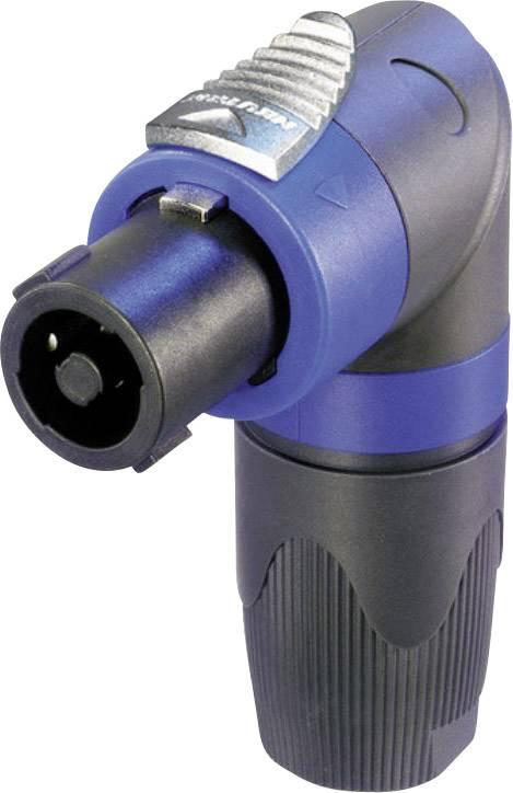 Konektor reproduktoru zástrčka, rovná Neutrik NL4FRX, počet pinov: 4, čierna, modrá, 1 ks
